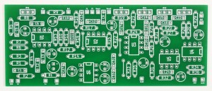 BASS PREAMP PCB