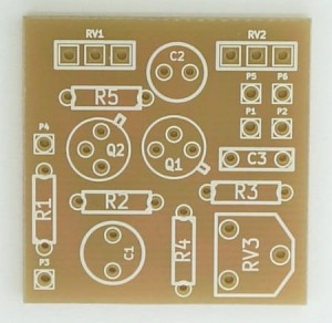 FUZZ FACE PCB