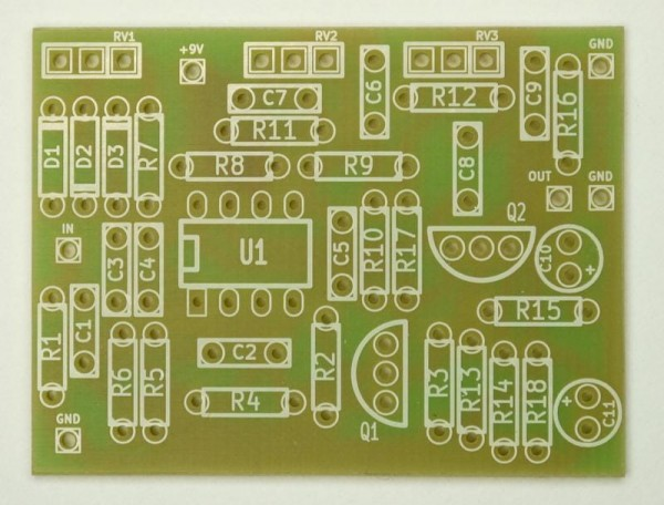 TUBE SCREAMER PCB