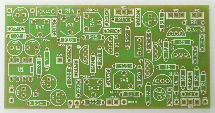 DIABLO PCB on